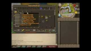Runescape Skiller Progress Vid 3 (My Sxc Cape)