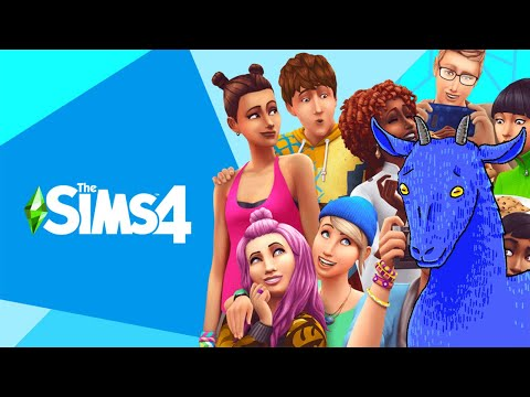 Azure Plays the Sims 4