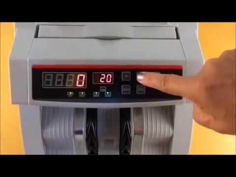Contadora De Billetes Con Detector de Falsos