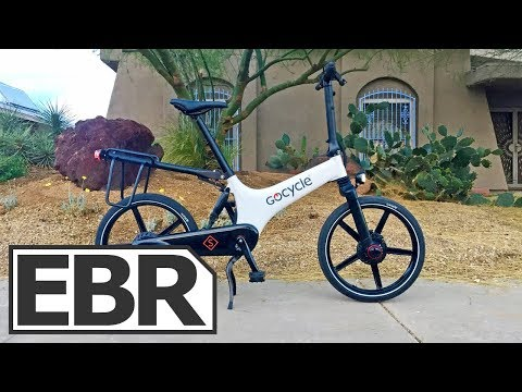 Gocycle GS Video Review – $2.8k Compact, Lightweight, Sporty Folding Electric Bike