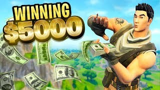How we won $5000 playing Fortnite...