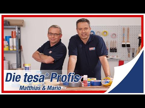 Die tesa® Profis - Das sind wir: Matthias & Mario