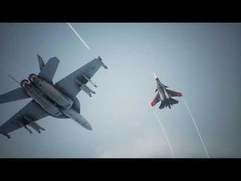 F 2A and F 35C TGS 2017 de Ace Combat 7