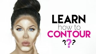 HOW TO CONTOUR FOR BEGINNERS!!