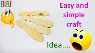 easy diy craft diy craft for kid ice cream stick spoon crafts diy art and craft