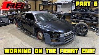Rebuilding A Wrecked 2018 Audi R8 Part 6
