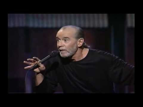 George Carlin 'The planet isn't going anywhere. WE are!'