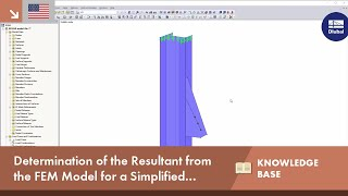 KB 001650 | Determination of Resultant from FEM Model for Simplified Weld Design