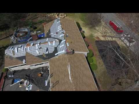 This roof was quite an undertaking with the different sections and levels of roof. In the video, you can see all the different layers of protection that our complete roofing system offers. The shingles and ridges are perfectly straight, and we completed this whole project in one day.