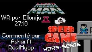 Speed Game Hors-série: Mega Man II Record Du Monde Commenté Par Asharfh Et RealMyop