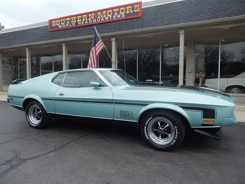 1972 Ford Mustang Mach 1 (CC-1345822) for sale in Clarkston, Michigan