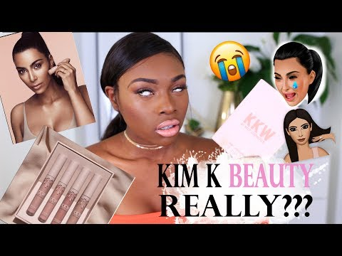 KIM KARDASHIAN BEAUTY…REALLY? A KKW BEAUTY FIRST IMPRESSIONS YOU MIGHT NOT WANT TO WATCH!