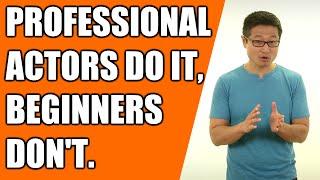 How Professional Actors Approach a Script