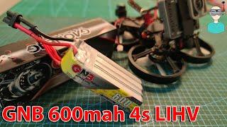 ???? Longer Flight Times For Micros? GAONENG GNB 600mah 4s LIHV Battery Capacity & Flight Time Tests
