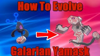 Runerigus  - (Pokémon) - How To Evolve Yamask into Runerigus - Pokemon Sword and Shield
