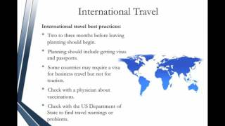 Administrative Assistant Certification - Travel Arrangements