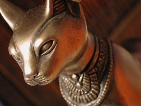 Кошки в Древнем Египте. Документальный фильм. видео