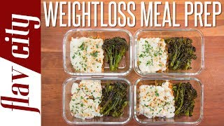 Weight Loss Meal Prep That Actually Tastes Good - Low Calorie Recipes