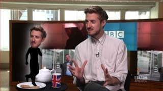 АРТУР ДАРВИЛЛ, ARTHUR DARVILL: 3 Questions, 2 Biscuits + 1 Cup of Tea - BBC America