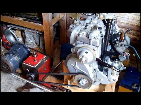 Восстановление двигателя ГАЗ-69М.