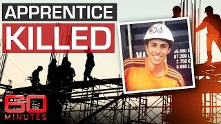 Teen crushed to death in construction collapse | 60 Minutes Australia