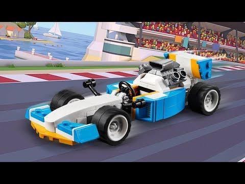 Vidéo LEGO Creator 31072 : Les moteurs extrêmes