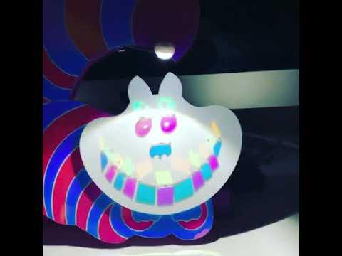 Dichroic Cheshire Cat - Custom Art Toy