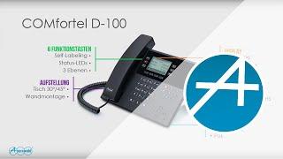 Onlineseminar: COMfortel D-100 und D-200 - Die neuen SIP-Telefone