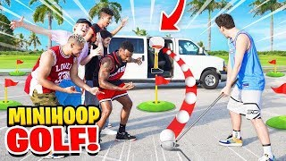 EPIC 2HYPE Miami Mini-Golf TRICKSHOT BASKETBALL