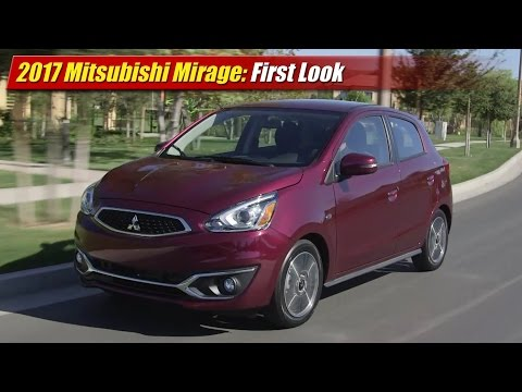 Mitsubishi Mirage: First Look