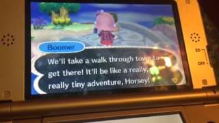 EJ: Animal Crossing New Leaf Part 73 Time Capsules & Butterflies
