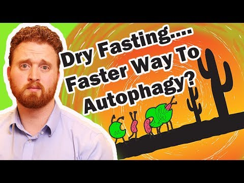 Autophagy Fasting: Does Dry Fasting Reach Autophagy Faster? - Dr