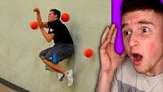 This kid has the worlds fastest reflexes..