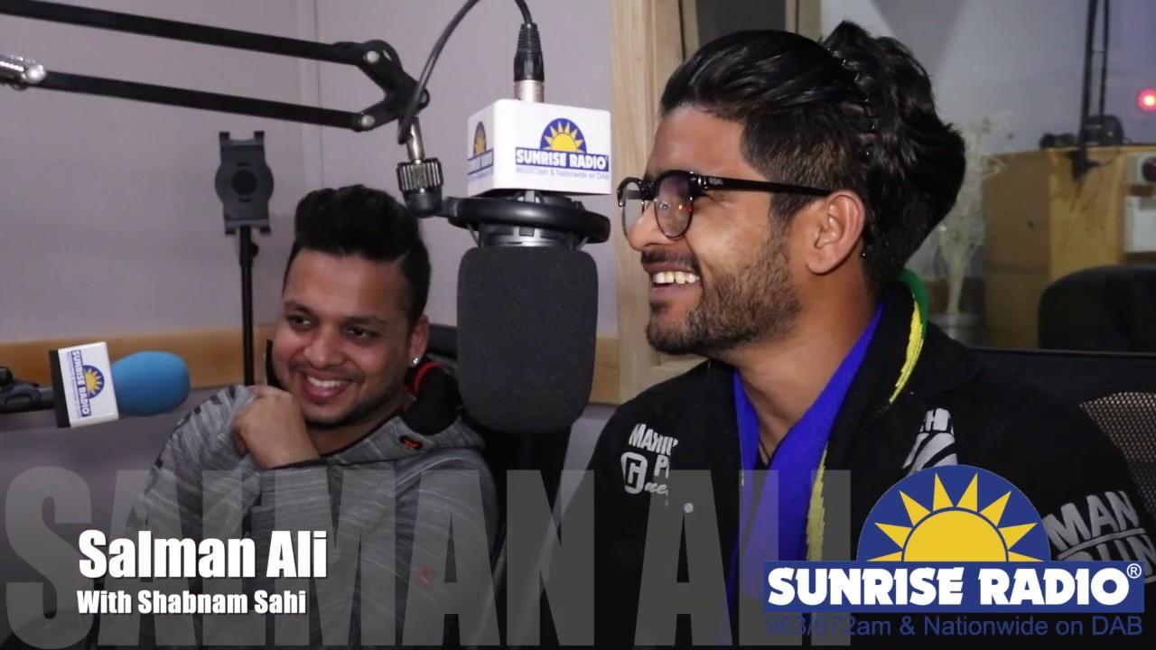 Part 2   Shabnam Sahi with Salman Ali on Sunrise