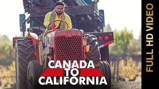 Canada To California  Jelly