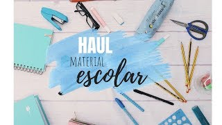 HAUL MATERIAL ESCOLAR 2018/2019  // CARLY HALL