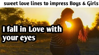 How to impress Boys&Girls by Romantic love quotes/2020
