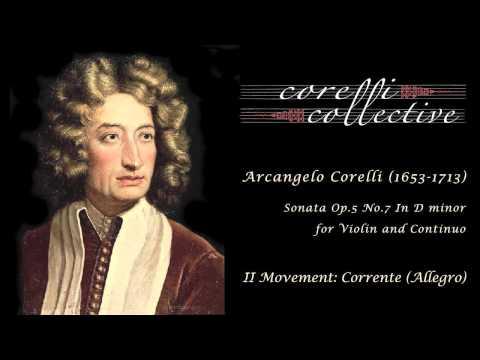 A. Corelli, Sonata Op.5 No.7 - Corrente (Allegro)