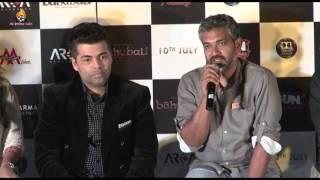 Bahubali Movie - Trailer Launch - Karan Johar - Prabhas