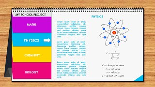 Multipurpose PowerPoint Template /Calendar Design /Business Infographics / Students Project / Free