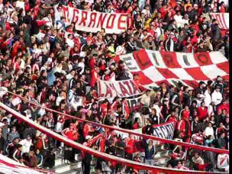 """""""domingos voy a ver al campeon"""" Barra: Los Borrachos del Tablón • Club: River Plate • País: Argentina"""