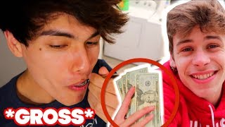 I CAN'T BELIEVE HE ATE THIS!! (BAD IDEA)