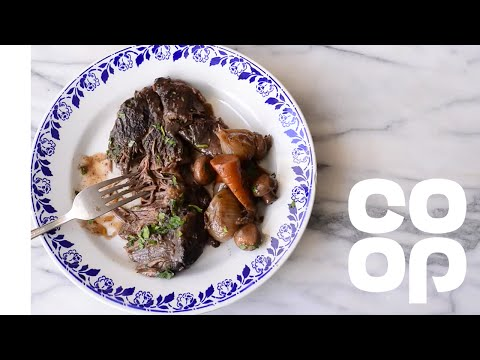 How to braise beef