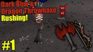 D Bow  Dragon Thrownaxe Rushing at West Dragons #1