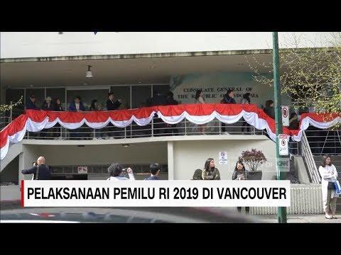 Pelaksanaan Pemilu RI 2019 di Vancouver