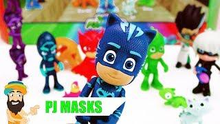 Meine neuen SUPERHELDEN   PJ Masks Delxue Figure Set   Spielzeug deutsch   Spielzeug Guru
