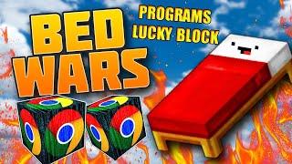 MINI GAME : PROGRAMS LUCKY BLOCK BEDWARS** BEDWARS VỚI LUCKY BLOCK VIP CÙNG NOOB TEAM