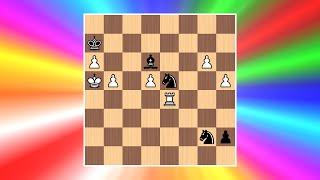 Best Chess Puzzle Ever? | Cool Chess Puzzle #7 (Leopold Adamovich Mitrofanov)