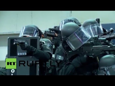 France: Huge anti-terror exercise held at Paris train station