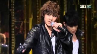 2PM - Tired of waiting (투피엠 - 기다리다가 지친다)   100110 sbs 인기가요